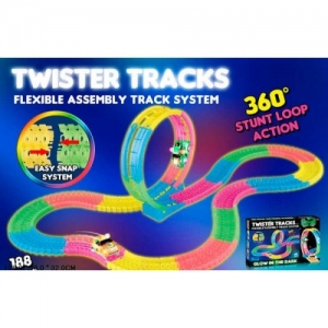 Гоночный Twister Tracks 7788 светящийся  (аналог Magic Tracks)