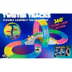 Гоночный Twister Tracks 7790 светящийся (аналог Magic Tracks)